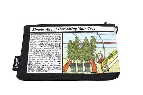 "L.E. x BARRETT FARMS ""Simple Way Of Harvesting Your Crop"" Stash-Bag"