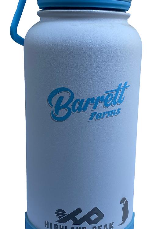 HIGHLAND PEAK x BARRETT FARMS Temperature Blocking 32 oz. Zero Waste Bottle