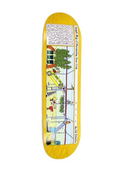 "L.E. x BARRETT FARMS ""Simple Way To Harvest Your Crop"" Skateboard"