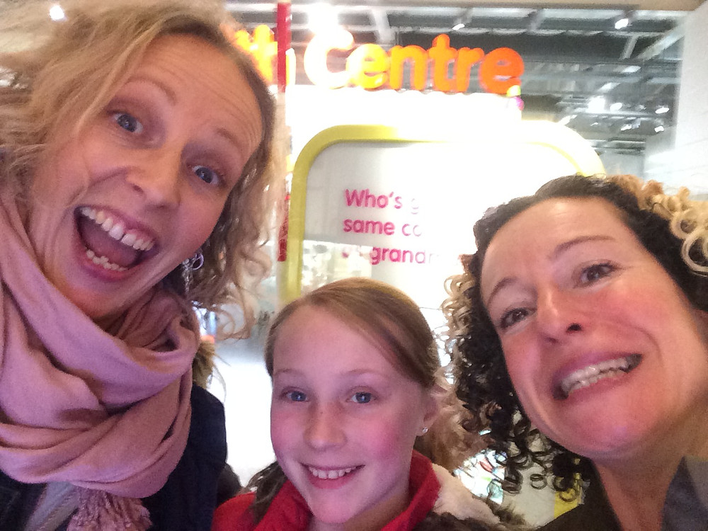 My daughter and I bumped the wonderful Kate Rusby :-)