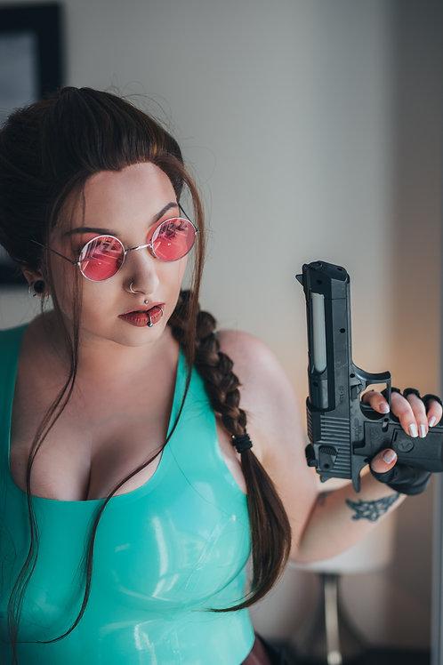 Lara Croft Print
