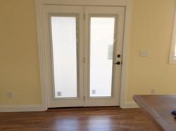 Patio Door and Trim Installation