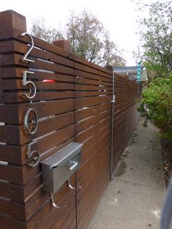 Denver Modern Fence