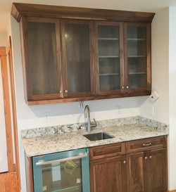 Bar Cabinet Installation