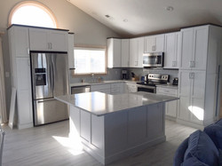 Kitchen Cabinet and Molding Install