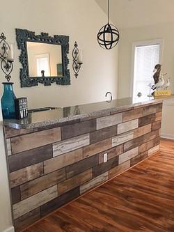 Bar Tile Installation