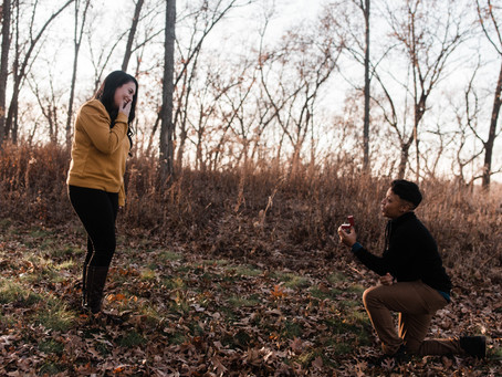 family photos + surprise proposal 😍