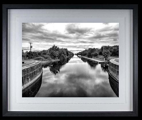 Victoria Lough Meelick A3 Platinum print Black Ash Frame