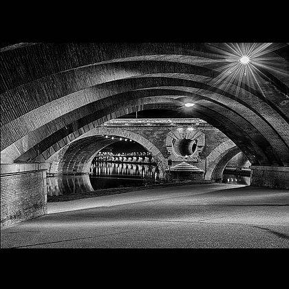 Pont Neuf Toulouse A4 Inkjet Print