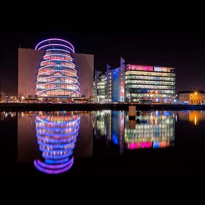 Conference Centre Dublin Dublin A4 Inkjet Print