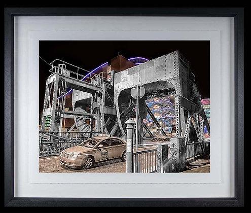 Canal Drawridge Dublin A4 inkjet print Black Ash Frame