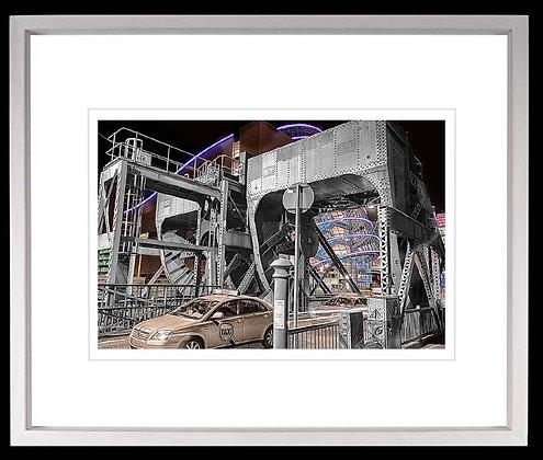 Canal Drawridge Dublin A4 inkjet print White Ash Frame