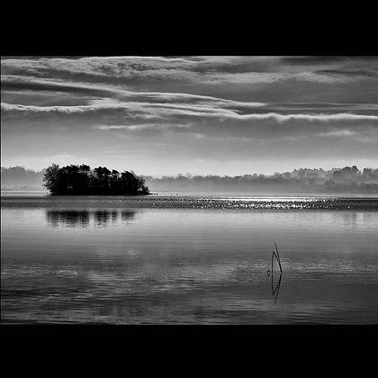Silver Island Lough Derg A4 Inkjet Print