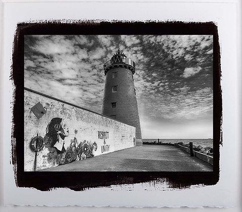 South Wall Lighthouse A3 Platinum print
