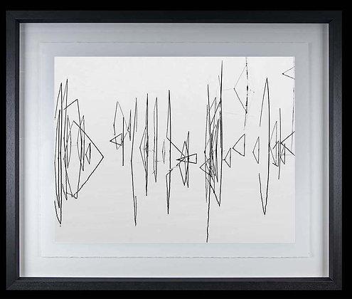 Reeds Lough Derg A4 inkjet print Black Ash Frame