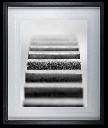 Machine Detail A4 inkjet print Black Ash Frame
