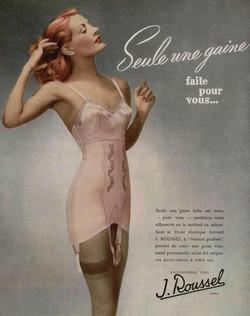1940's lingerie