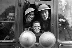 british troops 1939 off to Western Front