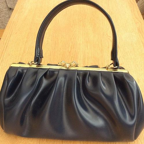 Navy Handbag