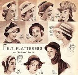 50s everyday hats