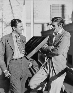 Cecil Beaton & Gary Cooper day suits