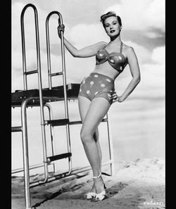 The Polka Dot Bikini 1950s