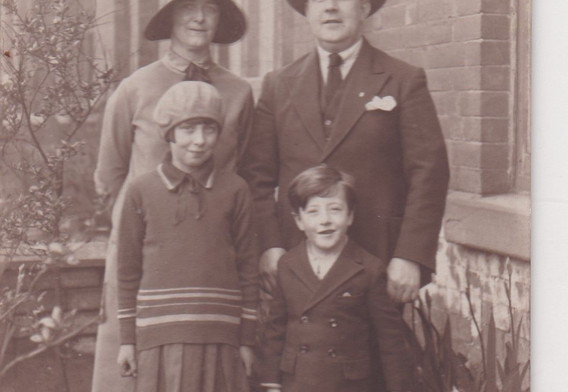 A Family Group 1920s