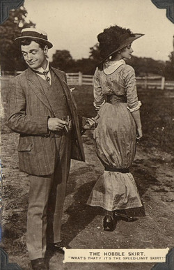 1911 wiggle skirt