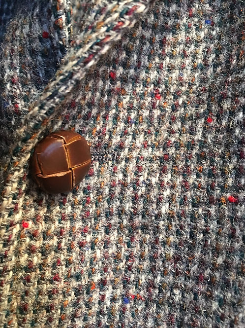 Harris Tweed Wool Sports Coat- 40 inch chest