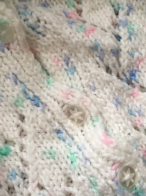 Hand knitted Baby's Cardigan