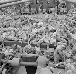 troops returning from Dunkirk