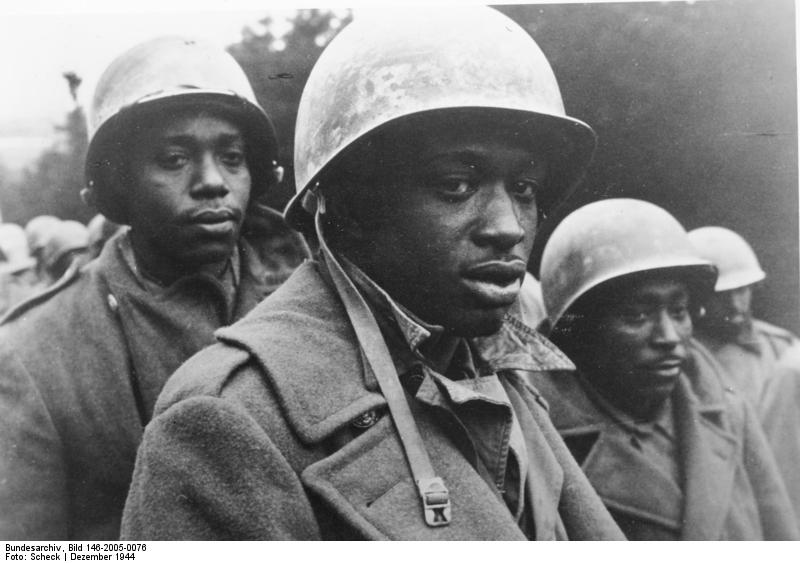 african American GIs captured 1944