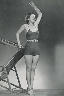 knitted swimwear