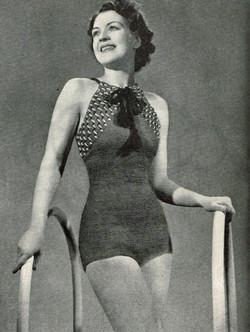 Crochet swimsuit