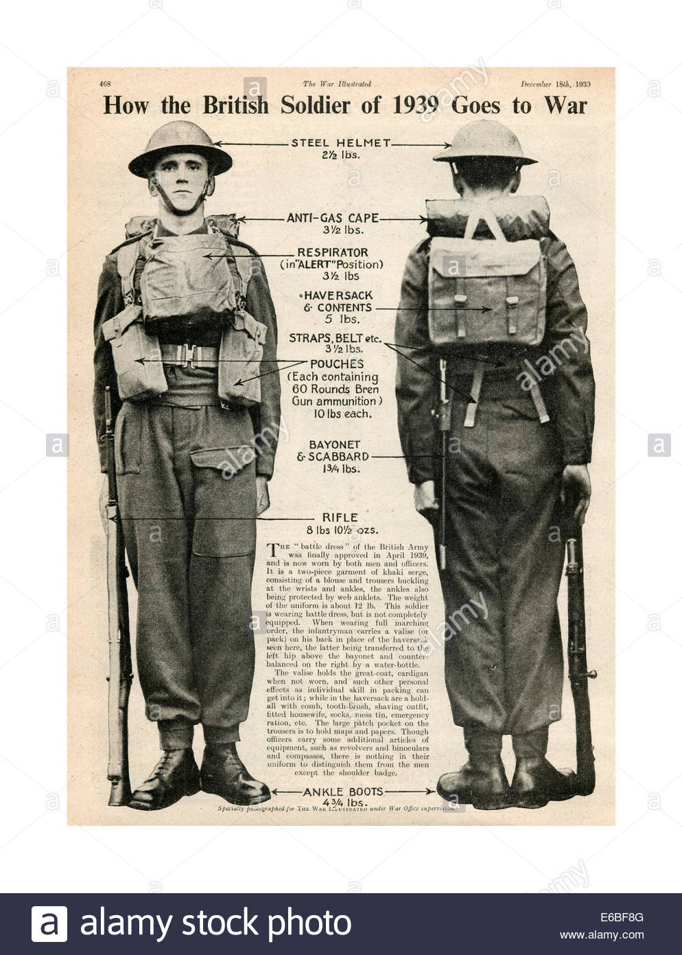 1930s-newspaper-page-showing-a-typical-tommy-british-soldier-at-attention-E6BF8G