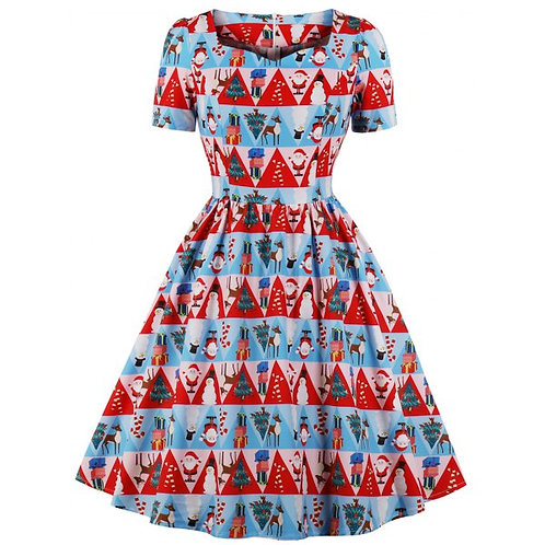 Gift Wrap Party Dress