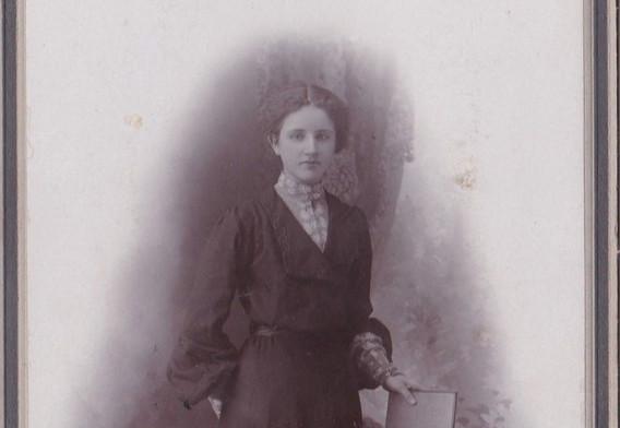 1880-90s English Day Dress