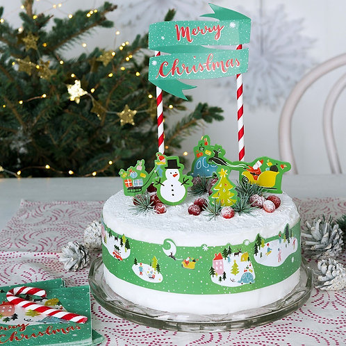 Christmas Wonderland Variety Decor Pack- 4 packs in 1