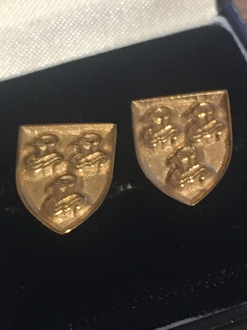 Hearaldic Vintage 'Gold'Cufflinks