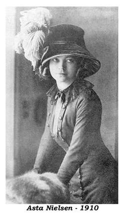 Asta Nielsen 1910 Actress
