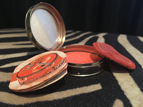 Tangee Rouge Mirrored Compact FULL with rouge