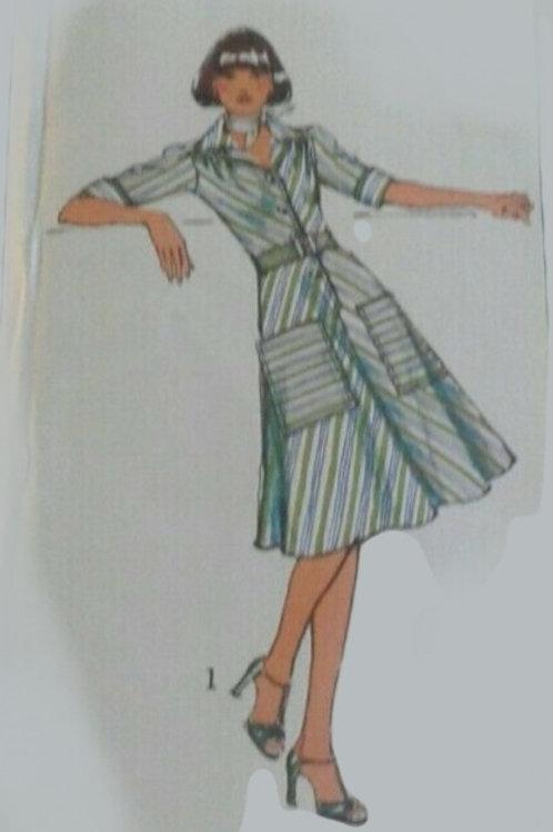 Vintage Day Dress- Size 10 ( Todays UK 8)
