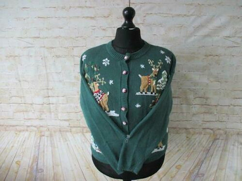Vintage Christmas Cardigan