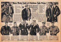 1933 ad mens coats