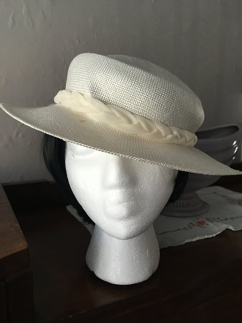Fedora Hat with Chiffon Bow in Box