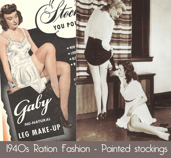 1940s-Ration-Fashion-Painted-stockings