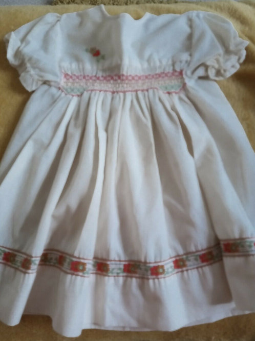 Dress with Smocking bodice
