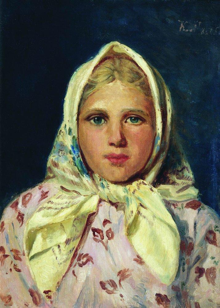 Portrait of unknown woman, 1883 - Iv