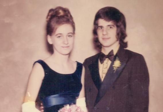 1971 Prom  Dress