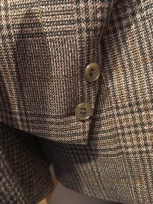 Burton By Royal Appointment Plaid Wool Sports Coat